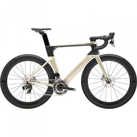 Bicicleta de sosea Cannondale SystemSix Hi-MOD Red eTap AXS Bej auriu 2020