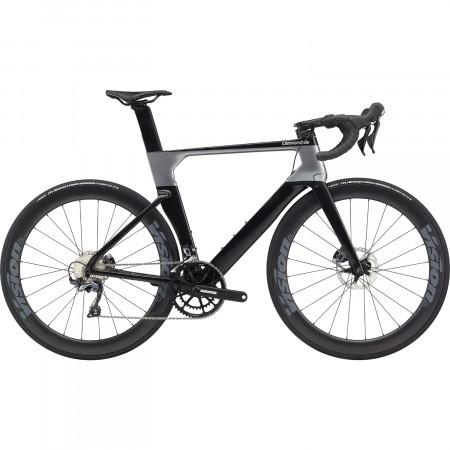 Bicicleta de sosea Cannondale SystemSix Carbon Ultegra Negru/Gri 2020
