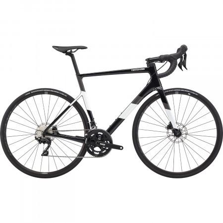 Bicicleta de sosea Cannondale SuperSix EVO Carbon Disc 105 Negru Perlat 2020