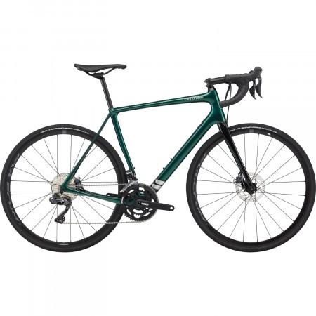 Bicicleta de sosea Cannondale Synapse Carbon Disc Ultegra Di2 Verde 2020
