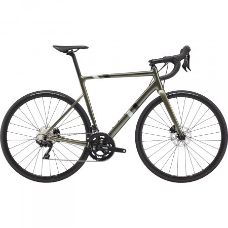 Bicicleta de sosea Cannondale CAAD13 Disc 105 Verde Khaki 2020