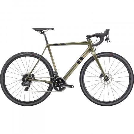 Bicicleta de sosea Cannondale SuperX Force eTap AXS Verde Khaki 2020