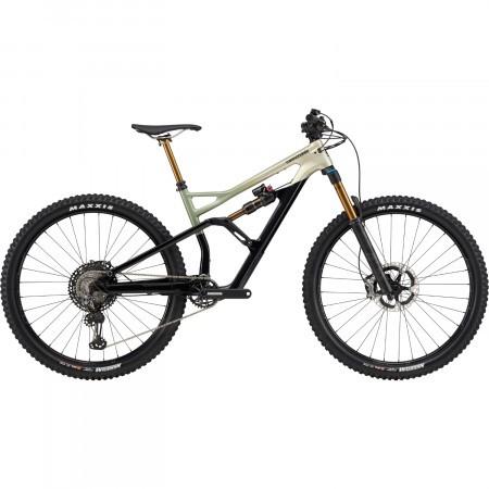 Bicicleta full suspension Cannondale Jekyll Carbon 29 1 Bej auriu 2020