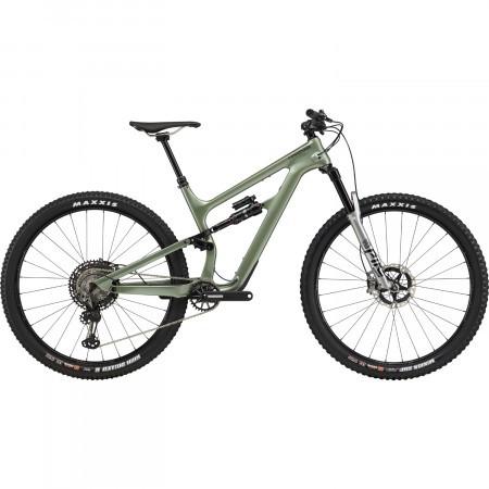 Bicicleta full suspension Cannondale Habit Carbon 1 Verde agave 2020