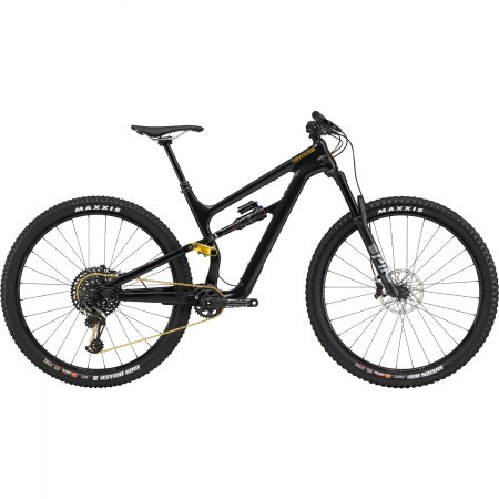 Bicicleta full suspension Cannondale Habit Carbon 2 Negru Perlat 2020