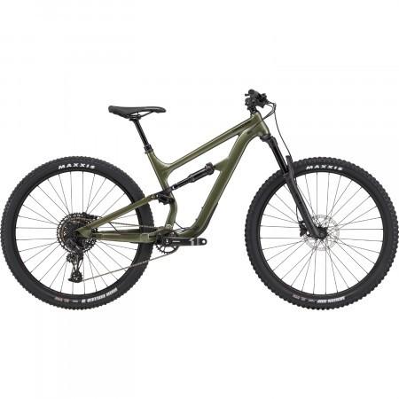 Bicicleta full suspension Cannondale Habit 5 Verde Khaki 2020