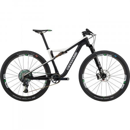 Bicicleta full suspension Cannondale Scalpel Si Hi-MOD World Cup Negru/Alb 2020