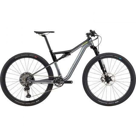 Bicicleta full suspension Cannondale Scalpel Si Carbon 2 Gri metalizat 2020