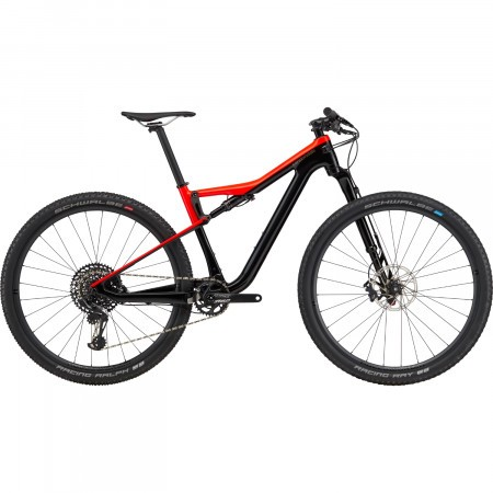 Bicicleta full suspension Cannondale Scalpel Si Carbon 3 Negru/Rosu 2020