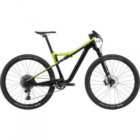 Bicicleta full suspension Cannondale Scalpel Si Carbon 4 Verde/Negru 2020