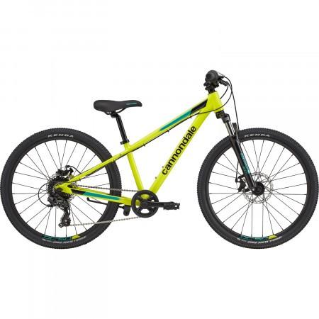 Bicicleta pentru copii Cannondale Trail 24 Galben 2021