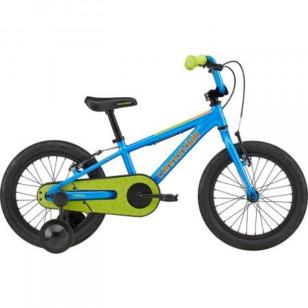 Bicicleta cu roti ajutatoare Cannondale Trail Freewheel 16 Albastru 2020