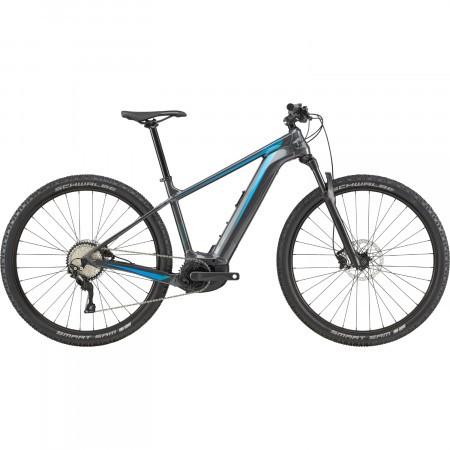 Bicicleta electrica Cannondale Trail Neo 2 Grafit/Turcoaz 2020
