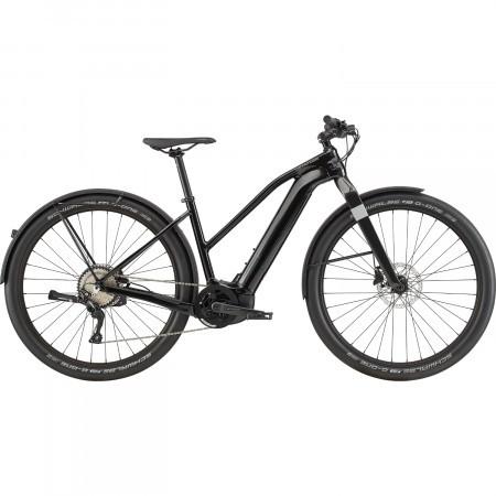 Bicicleta electrica pentru femei Cannondale Canvas Neo Remixte 1 Negru Perlat 2020