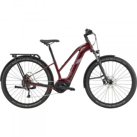 Bicicleta electrica pentru femei Cannondale Tesoro Neo X 3 Remixte Maro 2020