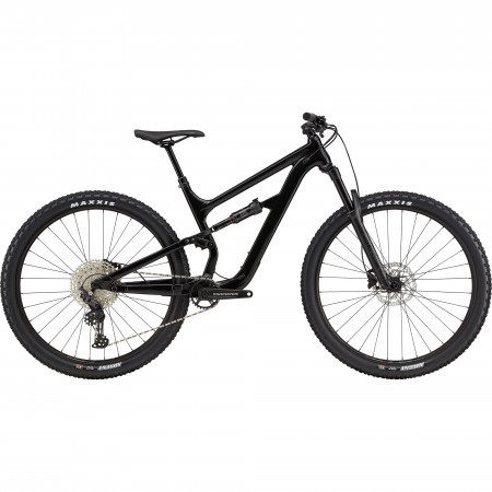 Bicicleta de munte full-suspension Cannondale Habit Carbon 5 Negru 2021