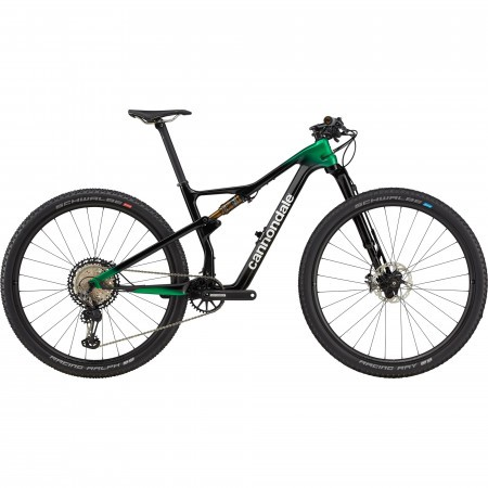 Bicicleta de munte full-suspension Cannondale Scalpel Hi MOD 1 Negru/Verde 2021