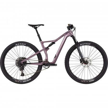 Bicicleta de munte full-suspension pentru femei Cannondale Scalpel Carbon SE Mov 2021