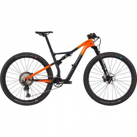 Bicicleta de munte full-suspension Cannondale Scalpel Carbon 2 Negru/Portocaliu 2021