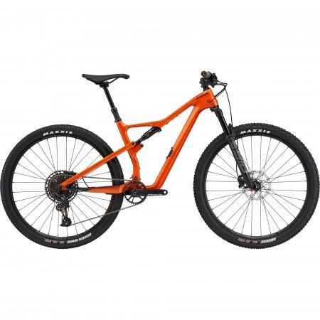 Bicicleta de munte full-suspension Cannondale Scalpel Carbon SE 2 Portocaliu 2021