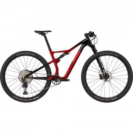 Bicicleta de munte full-suspension Cannondale Scalpel Carbon 3 Rosu 2021