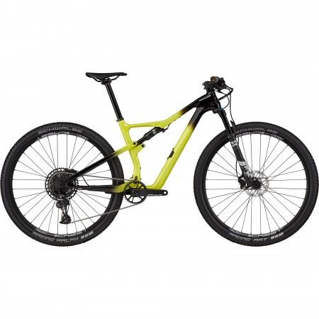 Bicicleta de munte full-suspension Cannondale Scalpel Carbon 4 Negru/Galben 2021