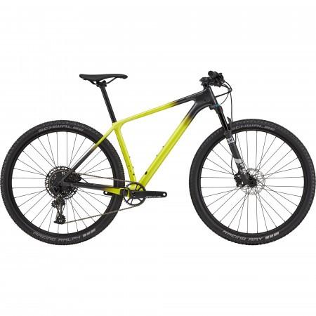 Bicicleta de munte hardtail Cannondale F-SI Carbon 5 Verde fosforescent 2021