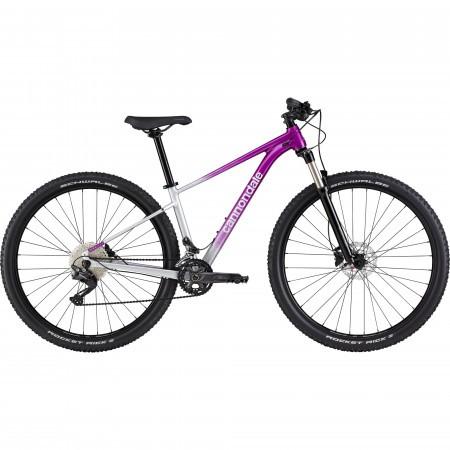 Bicicleta de munte hardtail pentru femei Cannondale Trail SL 4 Violet/Argintiu 2021
