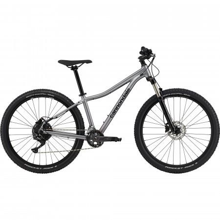 Bicicleta de munte hardtail pentru femei Cannondale Trail 5 Lavander Argintiu 2021