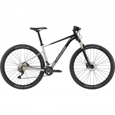 Bicicleta de munte hardtail Cannondale Trail SL 4 Negru/Argintiu 2021