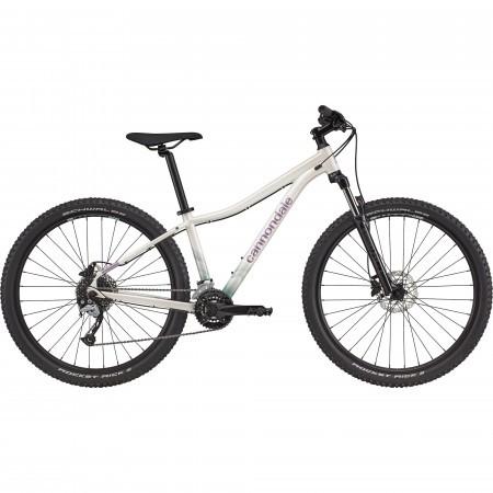 Bicicleta de munte hardtail pentru femei Cannondale Trail 7 Alb 2021