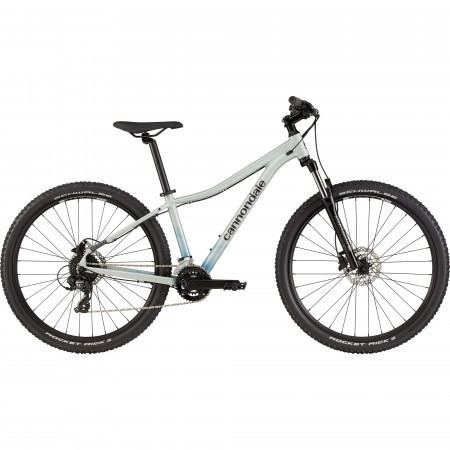 Bicicleta de munte hardtail pentru femei Cannondale Trail 8 Gri deschis 2021