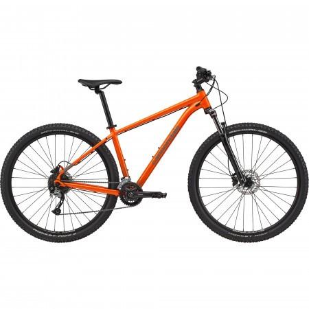 Bicicleta de munte hardtail Cannondale Trail 6 Portocaliu 2021