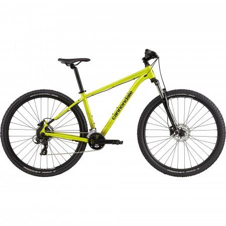 Bicicleta de munte hardtail Cannondale Trail 8 Verde fosforescent 2021
