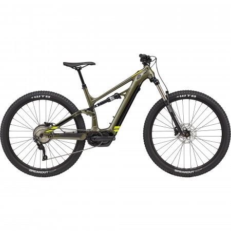 Bicicleta electrica Cannondale Moterra Neo 5 Verde mantis 2021