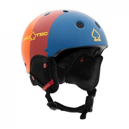 Casca schi/snowboard copii Pro-tec JR Classic Certified Snow Retro Stripe