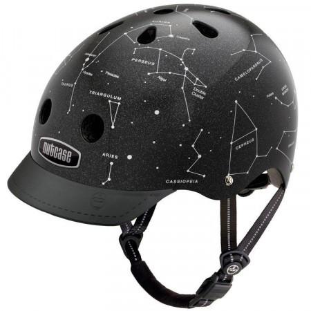 Casca protectie unisex Nutcase Constellations Street Negru 2018