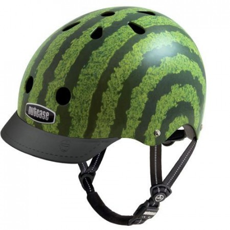 Casca protectie unisex Nutcase Street Watermelon Verde
