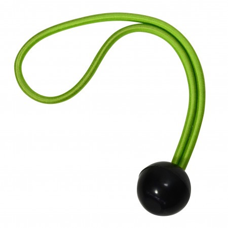 Set x4 coarda elastica MasterLock 20 cm cu bila 25 mm verde