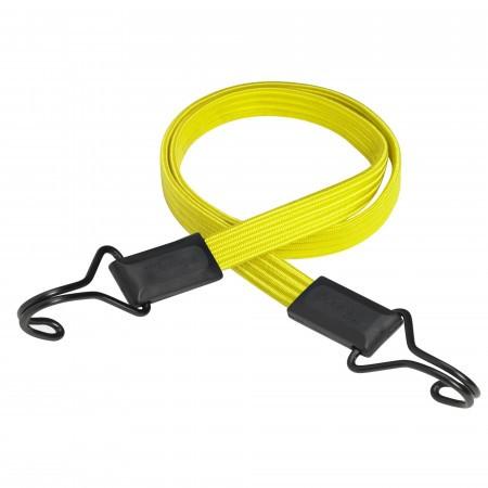 Coarda elastica prindere carlig MasterLock 1m x 18mm Smooth bungee Galben