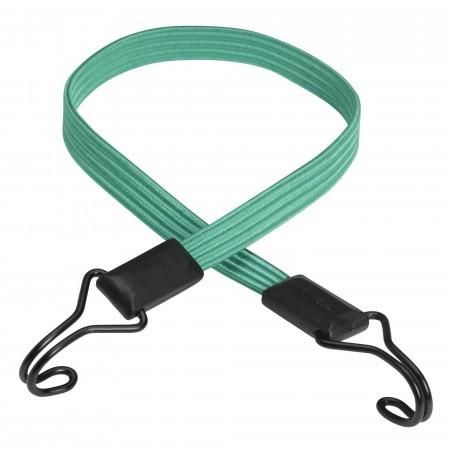 Coarda elastica prindere carlig MasterLock 80cm x 18mm Smooth bungee Turcoaz