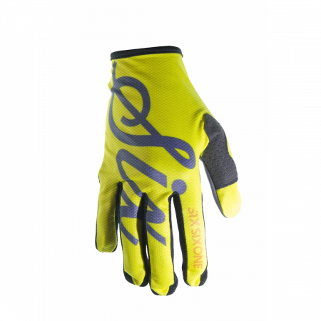 Manusi 661 Youth Comp Glove Galben Script
