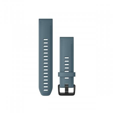 Curea Garmin Quickfit 20 silicon lakeside blue fenix 5S, 6S