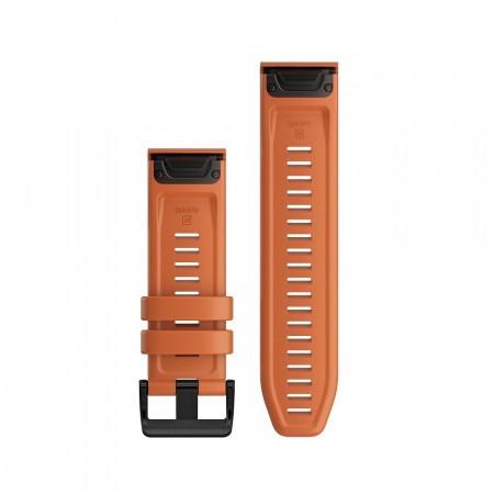 Curea Garmin Quickfit 26 Silicon orange striat