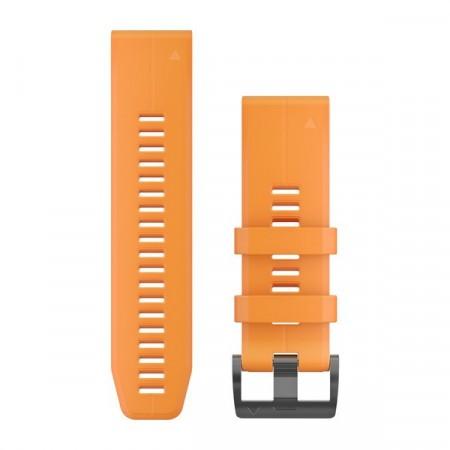 Curea Garmin Quickfit 26 Silicon portocaliu