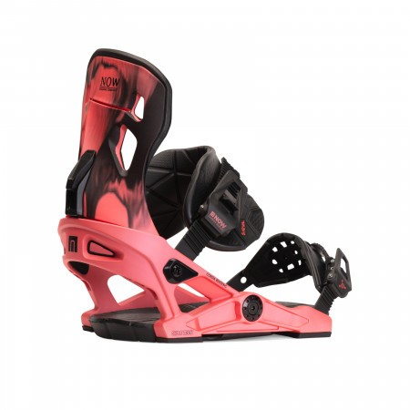 Legaturi snowboard femei Now Conda Rosu Coral 2020