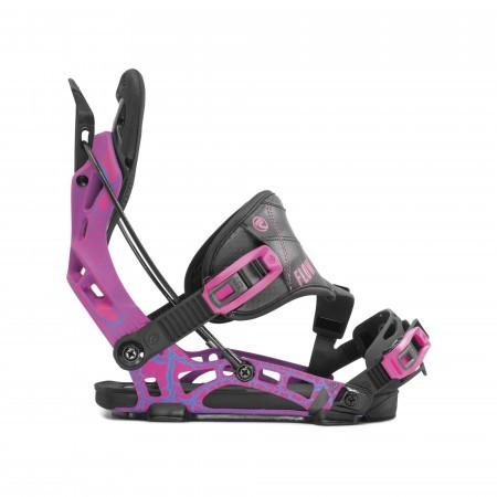 Legaturi snowboard Barbati Flow NX2 Hybrid Magenta Negru/Mov 2020