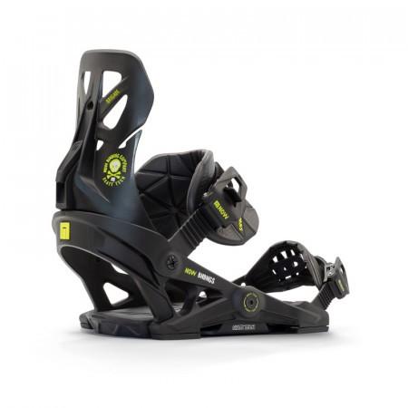 Legaturi snowboard Barbati Now Brigade Negru 20/21