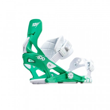 Legaturi snowboard femei Now IPO Alb/Verde 2019