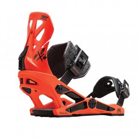 Legaturi snowboard barbati Now Select Portocaliu/Negru 2019